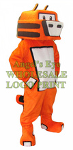 robot tiger mascot costume adult size cartoon cat tiger theme anime cosply costumes carnival fancy dress kits sw2912