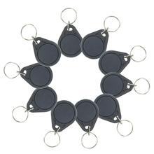 Buy 10pcs RFID keyfobs I3.56 MHz IC keychains NFC tags ISO14443A MF Classic® 1k nfc tags smart keycard token grey color for $5.98 in AliExpress store