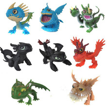 8pcs How To Train Your Dragon 2 Toys Action Figures Brinquedos Kids Toys Juguetes