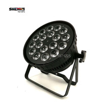 Led Par Light 18X15W 5in1 RGBWA Professional Stage Lights Sound Party Equipment Led Par Strobe Effect Led Lamp DMX512(China)