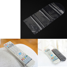 5x Shrink Protective Sleeve Remote Film TV Air-Conditioner Video Controls Dust Covers Waterproof