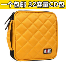 Car Auto CD DVD Disk Card Visor Case Holder Clipper Organizer Bag 32 CDs Inside Carry Case NEW