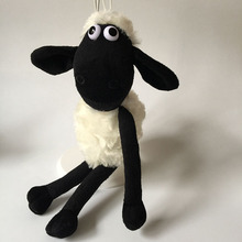 Cute Lovely Sheep Plush Toys Lamb Bag Pendants Soft Stuffed Dolls Baby Kids Friends Gift 25cm