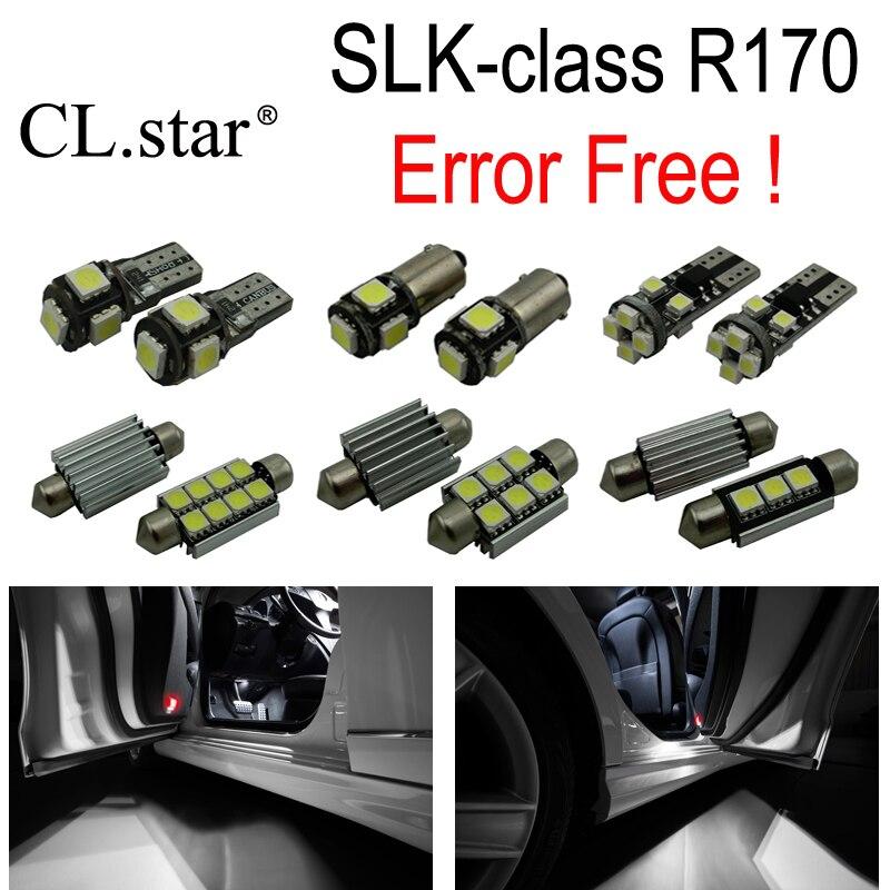 11pc X Error Free LED interior dome light lamp Kit package For Mercedes Benz SLK class R170 SLk230 SLK320 SLK32 AMG (1996-2003)<br>