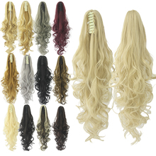 Clip in Hair Extension Fake Hair Ponytails Curl Claw Ponytails Hair Piece Little Pony Hair Tail