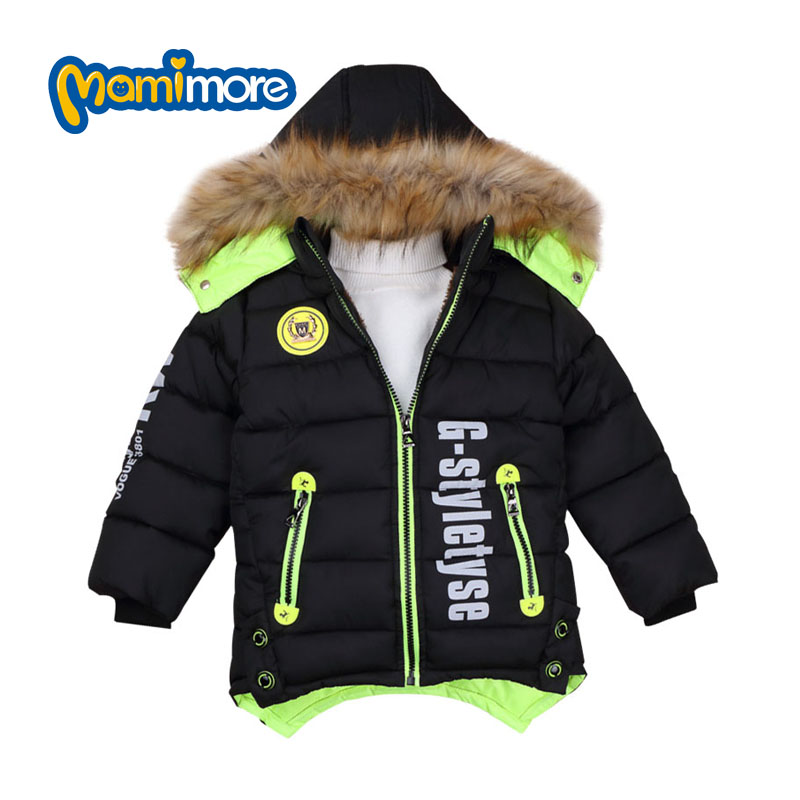 Mamimore Cool Style Boys Jacket Down Cotton Padded Warm Kids Clothes Fashion Duck Down Jacket Coat Children Clothing For BoyОдежда и ак�е��уары<br><br><br>Aliexpress