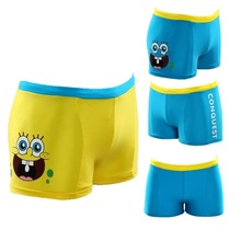 Cartoon Boy's Swim Trunks Children's Swimming Wear Trunk Beach Shorts 2-12year Boy Pants