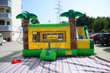 FREE SHIPPING BY SEA Hot Sale Commercial Inflatable Bouncer Slide Jumping House Inflatable Toy(China)