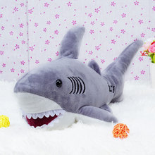 Shark Plush Toys Sweet Cute Lovely Stuffed Animals Baby Kid Toys Birthday Christmas Gift 20x45x18cm PRDTD Plush Dolls for Girls(China)
