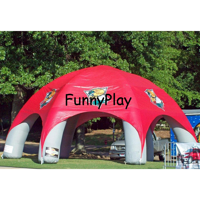 Inflatable Spider tent5