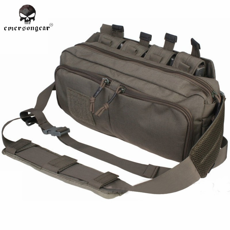 Emerson Multi-function RECON Waist Bag Travel Fanny Pack Military Army Combat Sling Shoulder Bag Hunting Accessories EM5802 FG ^<br><br>Aliexpress
