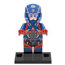 50pcs starwars superhero DC Atom Flash building blocks action  bricks friends for girl boy house games kids children toys