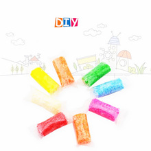 8colors/40g Handmade DIY Soft Polymer Foam Modelling Clay Set Snow Pearl Mud Playdough Educational Plasticine Toys for kids