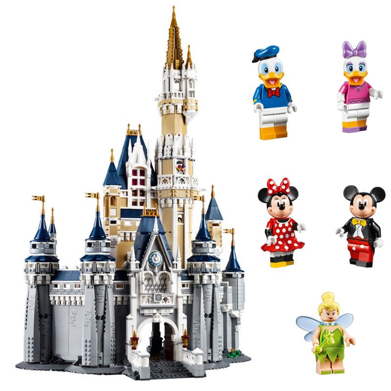 LEPIN-16008-Cinderella-Princess-Castle-City-Model-Building-Block-Kids-Educational-Toys-For-Children-Compatible-Legoing