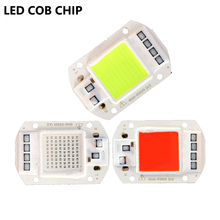 Buy Smart ic LED Lamp Chip Integrated COB 50W Red Blue Green 220V Need Driver Input Smart IC LED Bulb Lamp DIY Floodlight for $2.59 in AliExpress store
