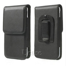 For s7 s6 & s6 edge Leather Cases, Vertical Cover With Belt Clip Holster Cell Phones Pouch For Samsung Galaxy S5 i9600 G900