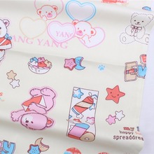 16712-9F,50cm * 150 cm Bear cartoon series cotton fabrics, making cushions cushion, children's clothing, bedding.(China)