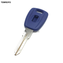 20pcs/lot keys for fiat transponder key shell with logo key case shell replacement key blank free logo