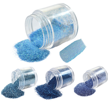 1 Bottle 10g Blue Beauty Colors Small Acrylic Dust Gem Nail Art Glitter Powder Tips DIY Salon Decorations #10/20/49/60