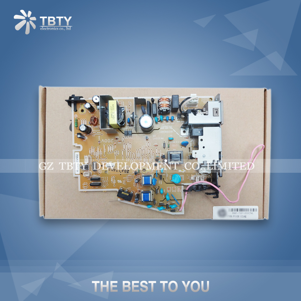 Printer Power Supply Board For HP 1102 1105 1106 1108 P1106 P1108 P1102 RM1-7591 Power Board Panel On Sale<br><br>Aliexpress