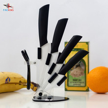 "FINDKING Brand High quality kitchen knife ceramic knife set 3"" 4"" 5"" 6"" inch with peeler Zirconia Chef Kitchen tools"