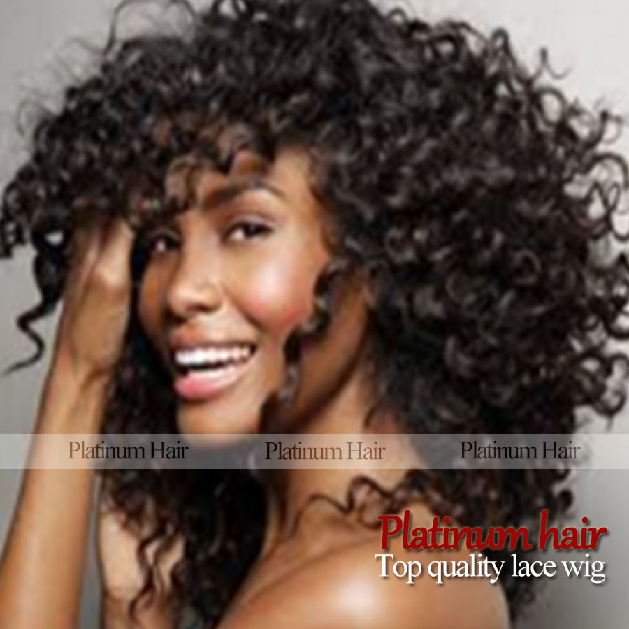 Kinky Afro Wigs Kinky Curly Black Hair Wig African American Wig For Black Women Cheap Synthetic Hair Realistic Wig<br><br>Aliexpress