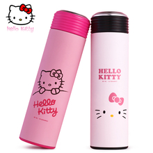 Hello Kitty Thermos Cup Tea infuser kids Thermo Mug M Drink bottle for water Insulated Stainless Steel Vacuum Flask Tumbler