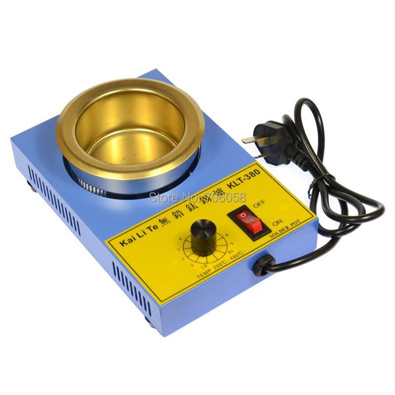 Solder Pot KLT-380 Titanium Free Soldering AC 220V 250W 80 mm / Soldering Solder<br>