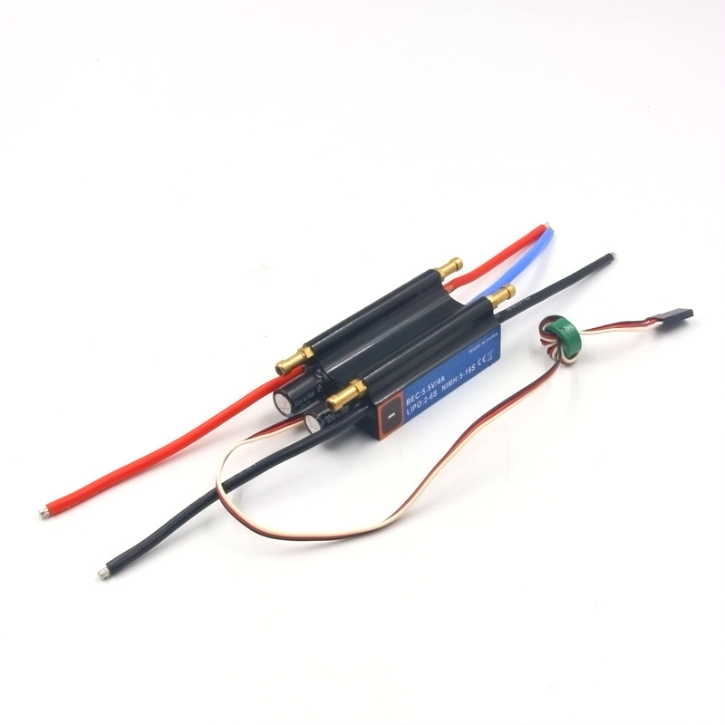 RC boat 50A ESC with water cooling system 2-6S BEC 5.5V / 4A<br>