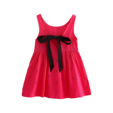 Trendy Baby Girl Floral Vest Sundress Children's Princess Costume For Kids Clothes Bebes Toddler Girl Summer Party Frocks Cheap
