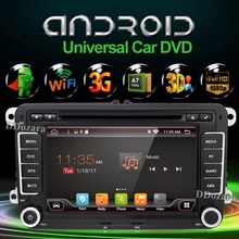 Quad Core Android 6.0 New 7Inch 2 DIN 800*480 Car DVD GPS For VW Passat B6 / B7 / Passat CC with WiFi and free 8G Card and Map(China)