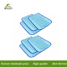 Microfiber 6-Pack Pro-Clean Mopping Cleaning Cloths for Braava Floor Mopping Robot irobot Braava 380 380t Minit 4200 5200 5200C(China)