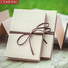 2016 New Creative Simple DIY Interleaf Type Grduate Mermory Photo Album For Personalized Wedding Baby Birthday The Best Gift