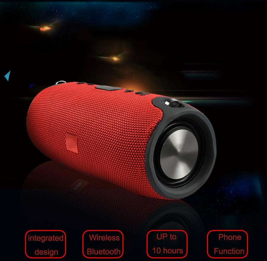 12 2018 Portable TF Card USB FM Radio Line in Wireless Fabric BT Speakers
