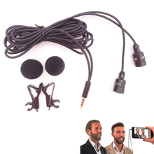 Omnidirectional Camera Lavalier Condenser Broadcast Microphone Professional for iPhone 7 6 6s 6s plus 5 5s 4 4s