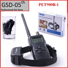 Pet Dog Training Collar System 1000M Waterproof Remote Control  Dogs Beeper 99 Level Petrainer PET900B For 1 Dog