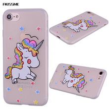 Buy FKISSME Glitter Bling Rainbow Cartoon Horse Unicorn Silicone Case iPhone 7 8 Cover Phone Cases Soft TPU Case iPhone 8 7 for $2.02 in AliExpress store