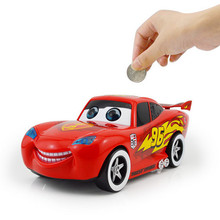 1 Pc Red Car Money Boxes 20*8*8 CM Gifts for Kids Home Decor Crafts High Quality(China)