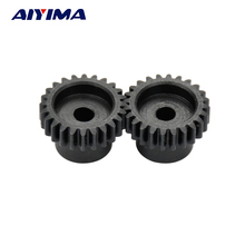 AIYIMA 2pcs 162 3mm Small Modulus 24 Teeth Spur Gears Inner Hole 3mm Carbon Steel M3 Cylindrical Gear
