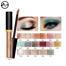 MINCH Shimmer Eye Shadow 17 Color Highlight Liquid Eyeshadow Glitter Powder Palette Contour Face Makeup Concealer(China)