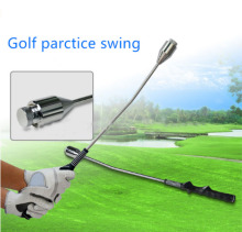 Golf Swing Trainer Weight Adjustable Club Rod Grip Practice Training Aid Beginner Golf Swing Training Rod