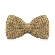 LF-317 New Arrival Knitted Crochet Men`s Bowties Adjustable Darkkhaki Solid Neckwear For Men Party Bussiness Free Shopping