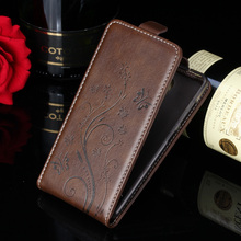 Leather Case For Huawei 4C Pro Flip Printing Embossing Leather Cover For Huawei Honor 4C Pro TIT-L01 Protective MobilePhone Bags(China)