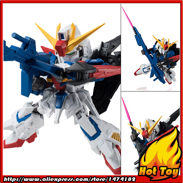 100% Original BANDAI NXEDGE STYLE Action Figure - Z Gundam + Hyper Mega Launcher from Mobile Suit Zeta Gundam<br>