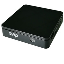 High quality mini tvip 412 tv box android 4.4 or linux support H.265 1920x1080 quad core kodi better than MAG250 254