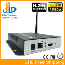 HTTP /RTMP /RTSP /RTP /UDP Multicast H.264 HDMI IPTV Video Encoder Support WIFI /Wireless Connection For Live Streaming, IPTV