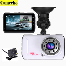 2017 New 3.0 inch Dual Lens Car Dvrs Full HD 1080P Car Dvr Video Recorder DashCam Car Camera Support Rear View Backup Camera