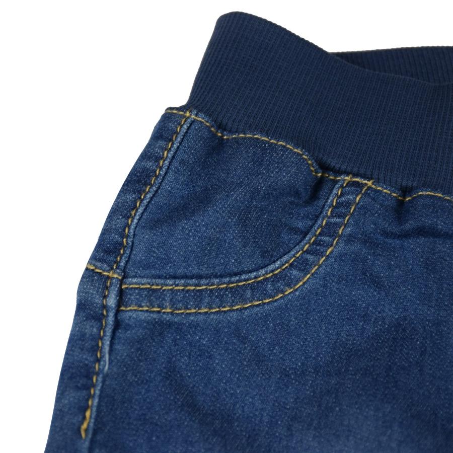 HSIN1703012-4Baby Denim Jeans Pants Warm Soft Leggings Boys Girsl Newborn Bebe Harem Trousers Infant Toddler Blue Pantalones Children Clothes