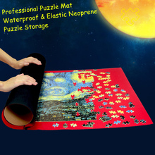 Waterproof Neoprene Puzzles Mat Jigsaw Roll Mat 58*92cm large for 1000 pieces Puzzle Accessories Storage Portable Indoor Outdoor(China)
