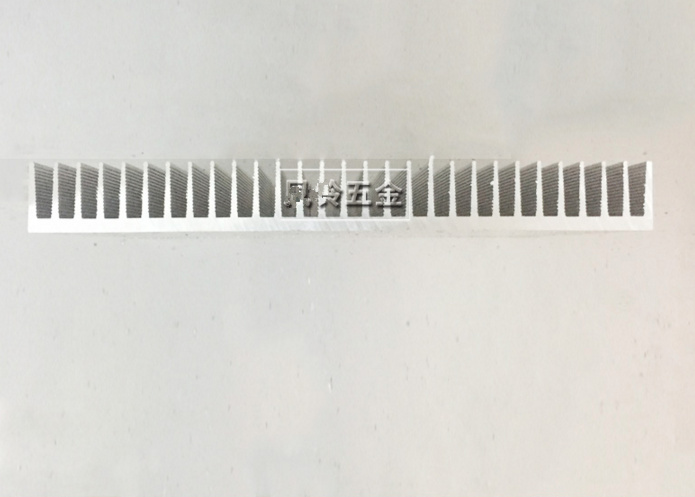 High power electronic radiator aluminum heatsink 220*25*220mm Industrial electrical radiator aluminum radiator profiles<br>